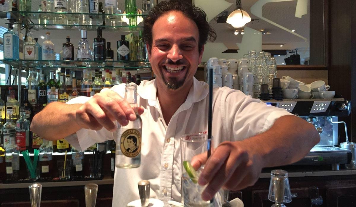 Mehr als 15 Gin-Tonic Varianten und viele weitere Longdrinks und Cocktails gibt es im Marktcafe Münster