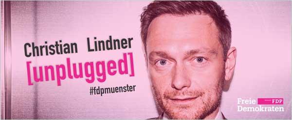 Christian Lindner im Marktcafe Münster